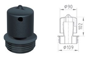 Basika bell trap DN100
